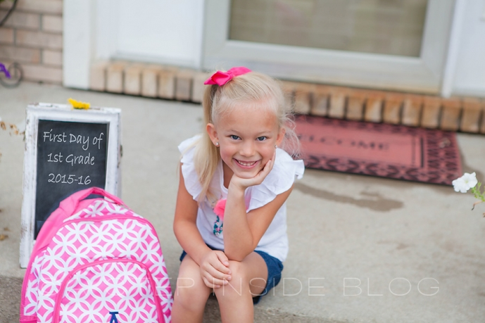 1st day of First Grade 2