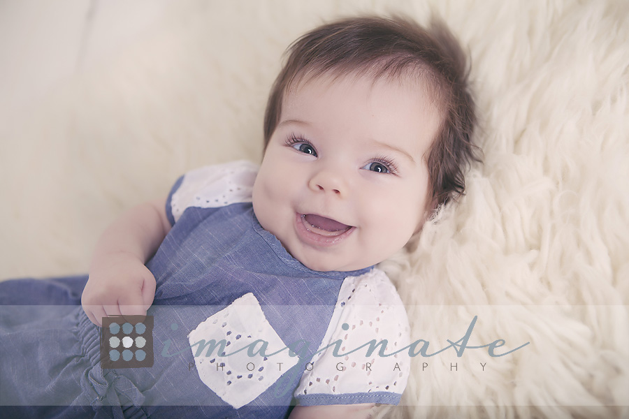 3 month old baby Addison 4