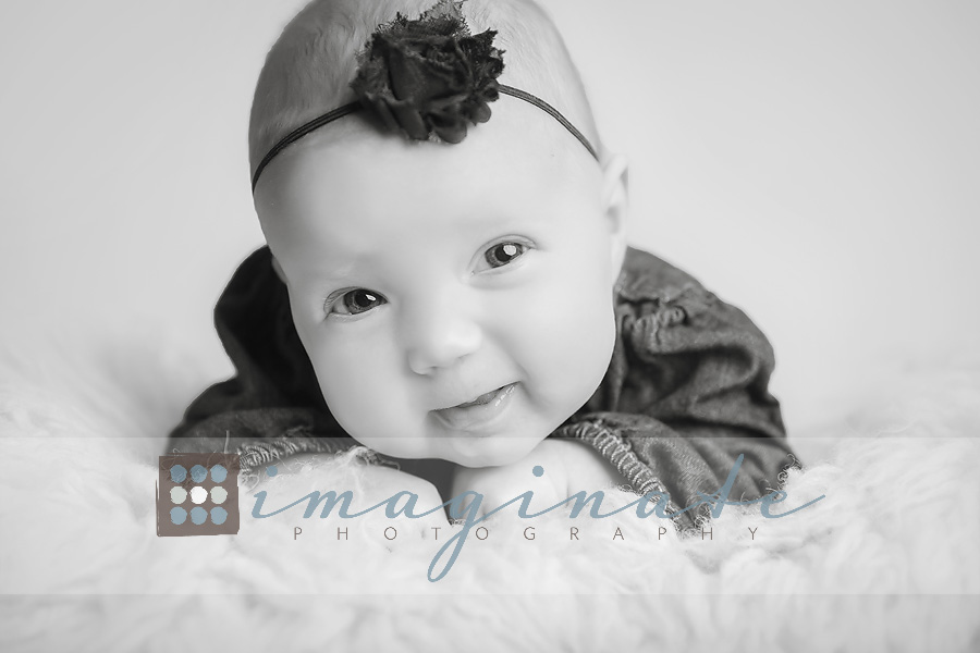 3 month old baby Evelyn H 4