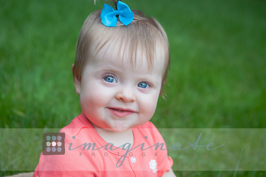 9 month old baby Hannah W 3