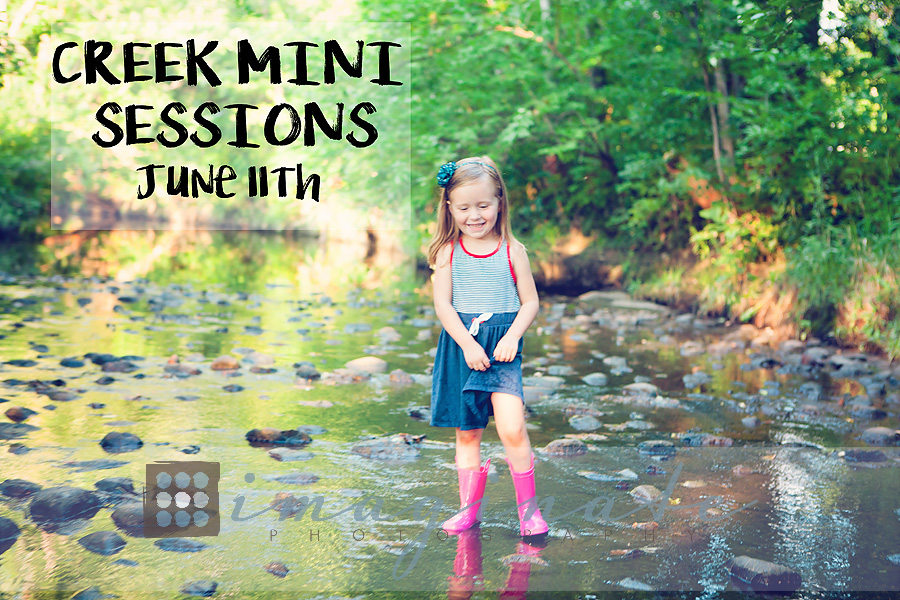 CREEK MINI SESSIONS 2