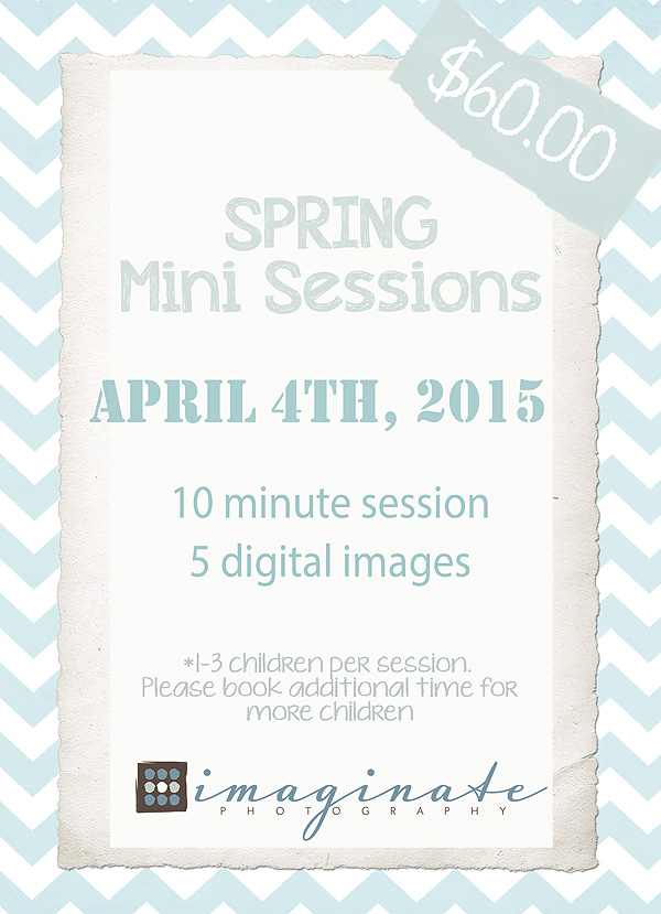 SPRING Mini Session PROMO