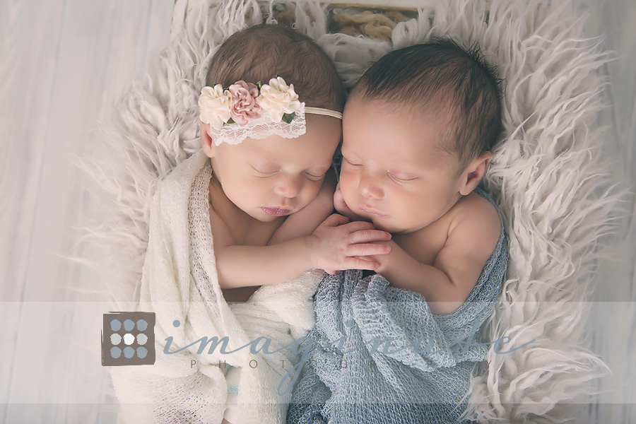 Newborn boy girl twins maddox maleigh twin newborn photos