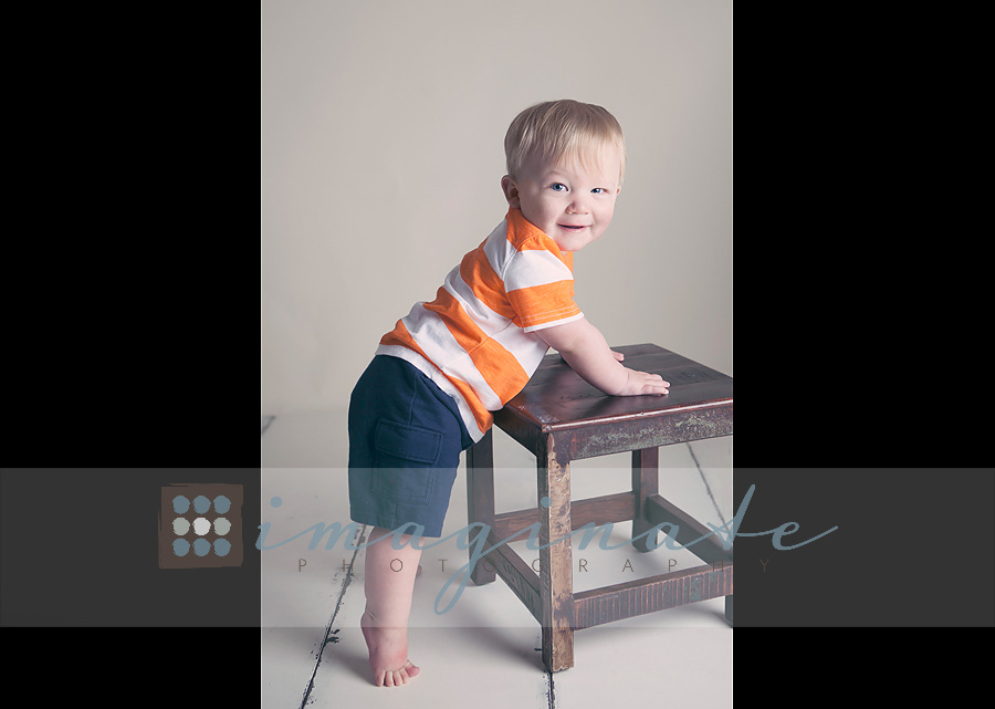 one year old Gannon 2