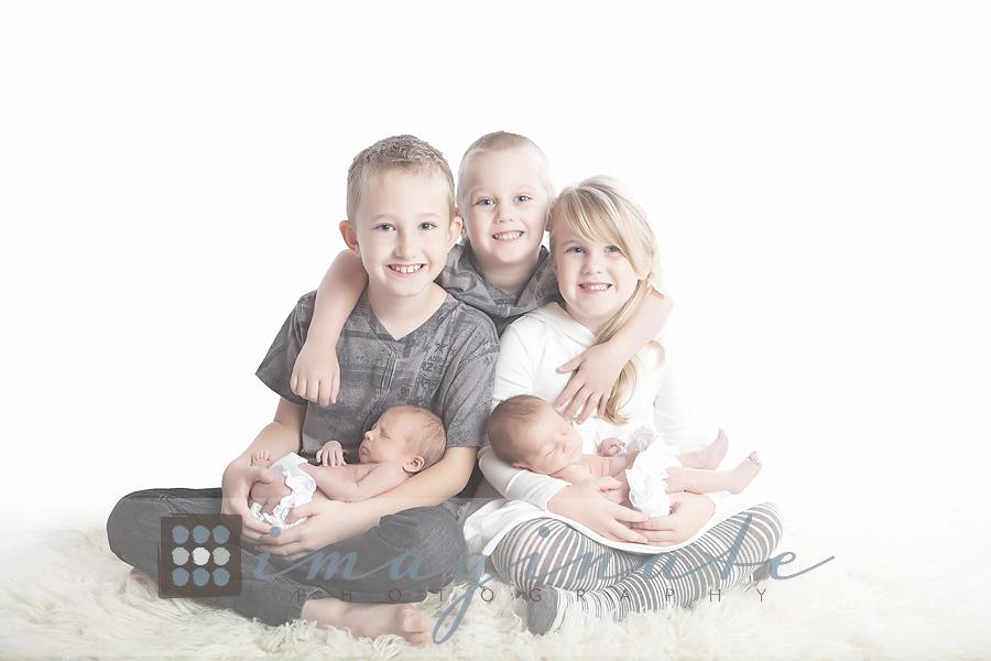 Newborn twin baby girls babys 1st year