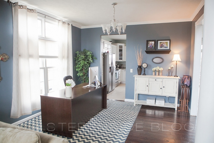 my home office space | before & after… » a step inside