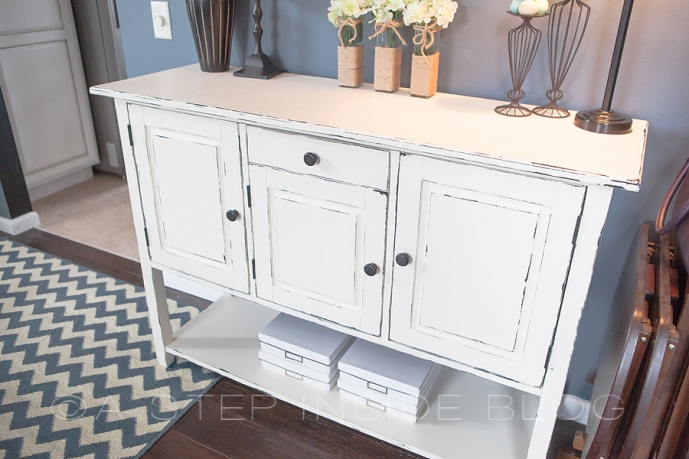 awesome diy buffet furniture piece re do a inside distressing furniture  with chalk paint exceptional endearing distressed with painting furniture  antique ... - Painting Furniture Antique White. The Solid Color With The Grain